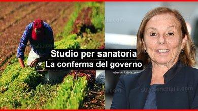 Photo of Sanatoria dei migranti per agricoltura e pesca: Il Governo conferma!