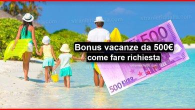 Photo of Bonus vacanze da 500 euro: Ecco come fare richiesta