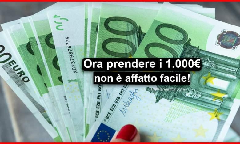 Bonus 1000 euro maggio 2020, chi resterà senza soldi?