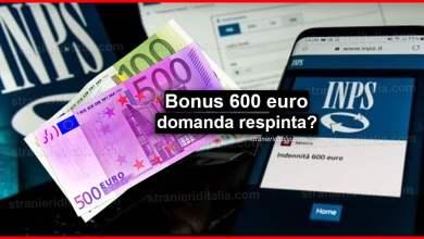 Photo of Bonus 600 euro domanda respinta? Ecco cosa devi fare!