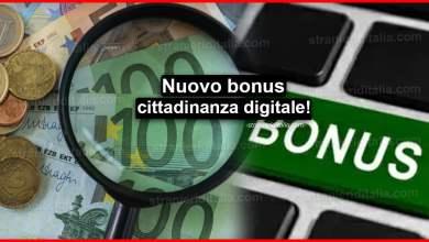 Photo of Nuovo bonus cittadinanza digitale: Come ottenerlo?