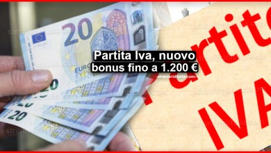 Photo of Partita Iva, nuovo bonus fino a 1.200 €: Come ottenerlo!