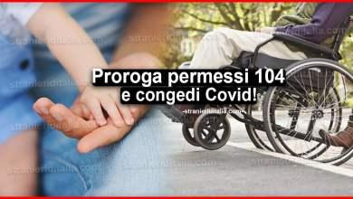 Photo of Proroga permessi 104 e congedi Covid: Istruzioni INPS
