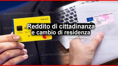 Photo of Reddito di cittadinanza: cosa fare se si cambia residenza?
