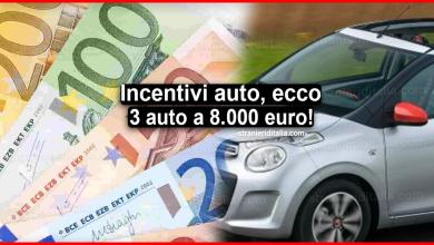 Photo of Incentivi auto per agosto 2020: ecco 3 auto a 8.000 euro!