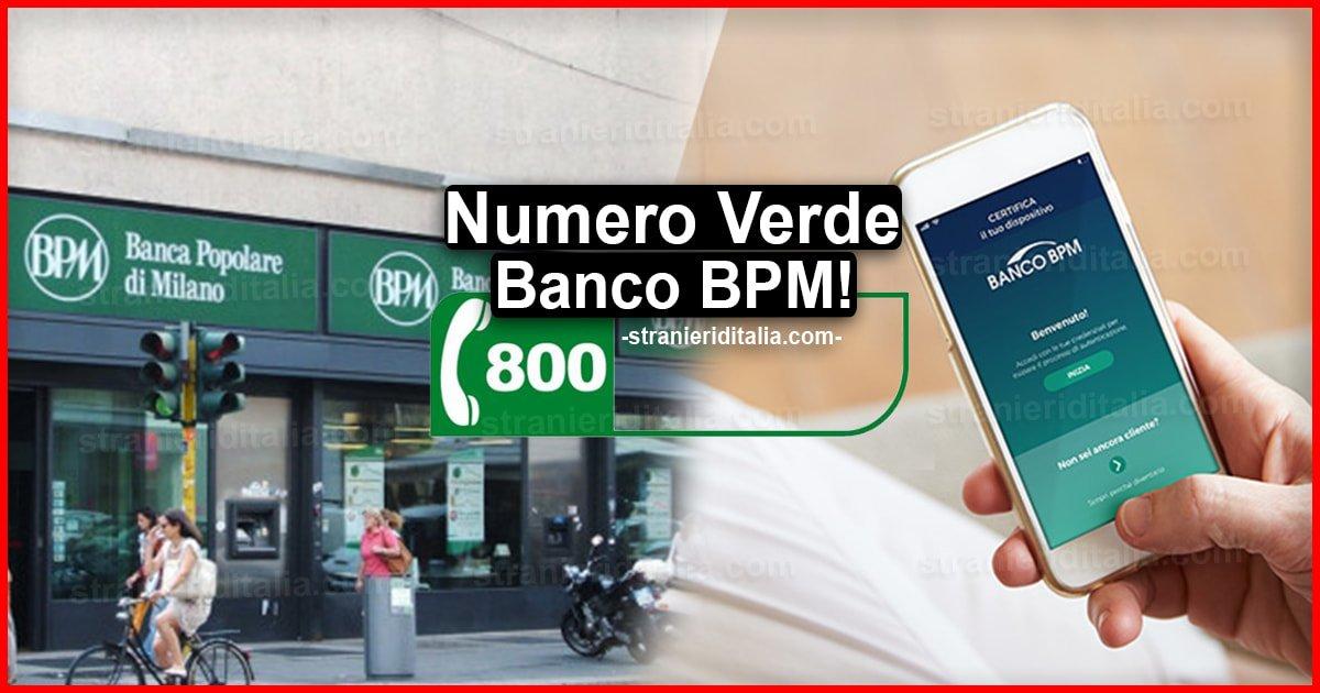 Numero Verde Banco BPM: Chi contattare in caso di emergenza