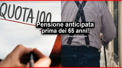 Photo of Pensione anticipata dopo Quota 100: prima dei 65 anni!