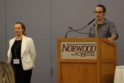 Andrea Shalay and Noah Star