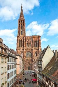 Cathédrale et rue Mercière