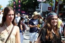 hippie-girls in Vancouver