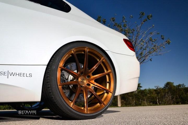RobM3-10Strasse Wheels - Mineral White BMW E92 M3 - SV5 Deep Concave Monoblock 10