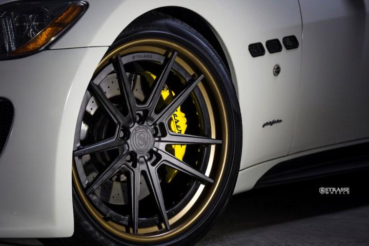 Strasse Wheels - Maserati Gran Turismo S - 20:21 SV1 Deep Concave FS 10