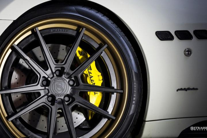 Strasse Wheels - Maserati Gran Turismo S - 20:21 SV1 Deep Concave FS 4