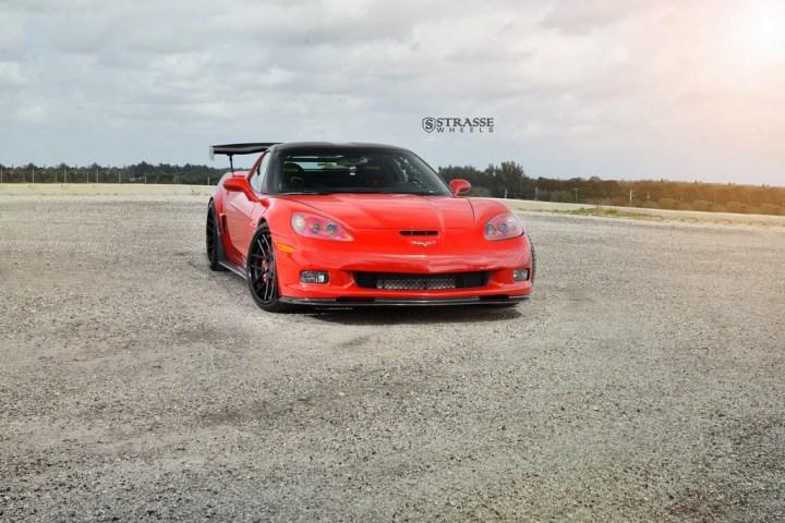 Strasse Wheels Twin Turbo Corvette Z06 6