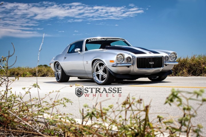 Strasse Forged Wheels 72 Camaro SS 9