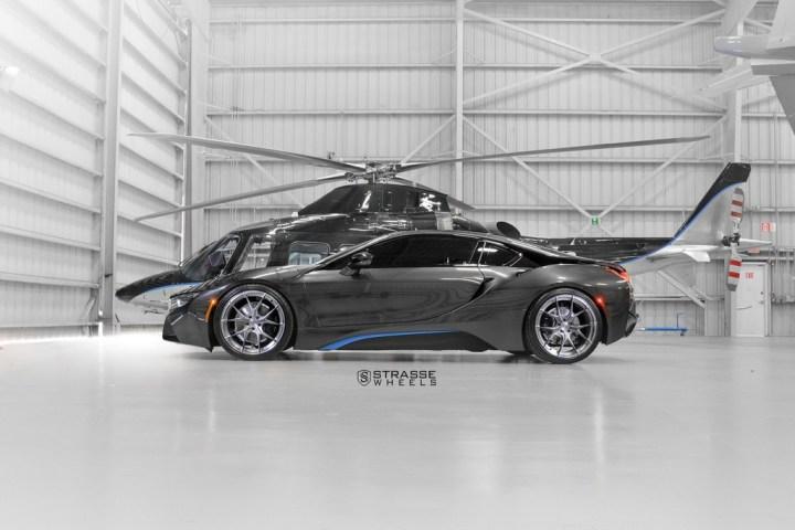 Strasse Wheels - BMW i8 - SM5R Concave Monoblock 4