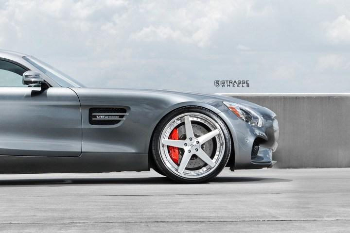 Strasse Wheels AMG GTs 8