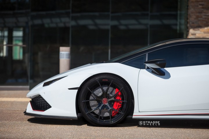 Strasse Wheels - Lamborghini Huracan LP610-4 - 20/21 SM5R Deep Concave Monoblock - Carbon Fiber Edition 1