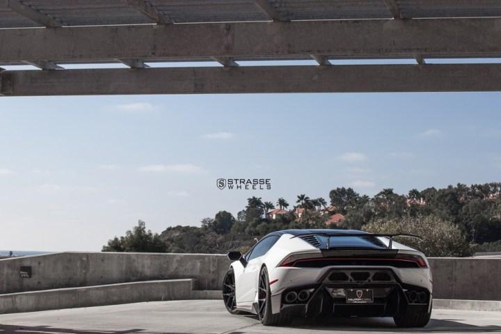 Strasse Wheels - Lamborghini Huracan LP610-4 - 20/21 SM5R Deep Concave Monoblock - Carbon Fiber Edition 18