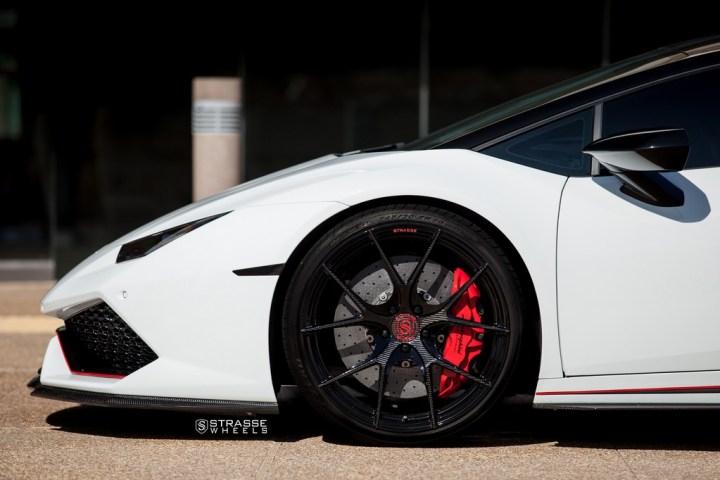 Strasse Wheels - Lamborghini Huracan LP610-4 - 20/21 SM5R Deep Concave Monoblock - Carbon Fiber Edition 4