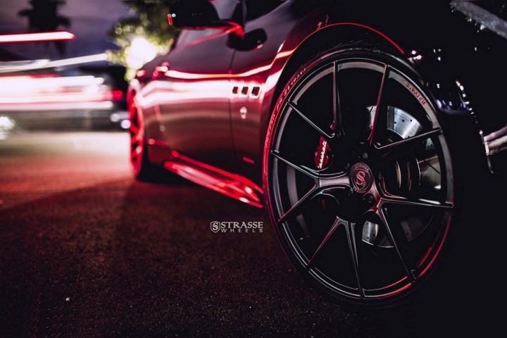 Strasse Wheels Maserati Gran Turismo S Black 6