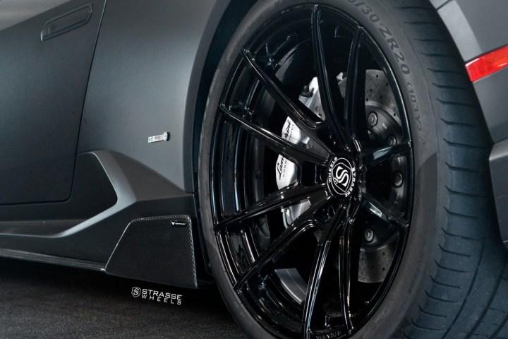 Strasse Wheels Matte Black Huracan SV1 12