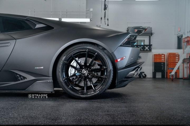 Strasse Wheels Matte Black Huracan SV1 13