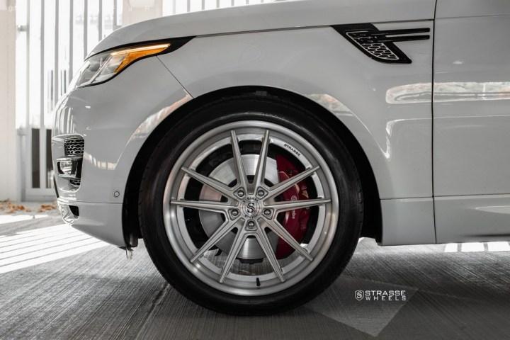 Strasse Wheels Range Rover HSE Sport SV1 8
