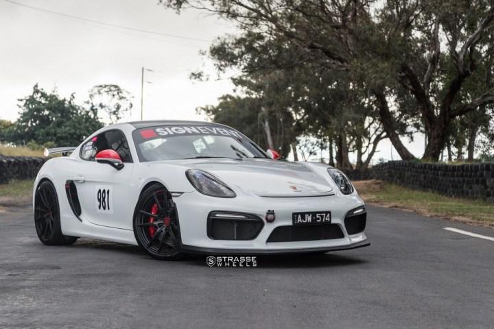 Strasse Wheels Porsche Cayman GT4 SV1 11