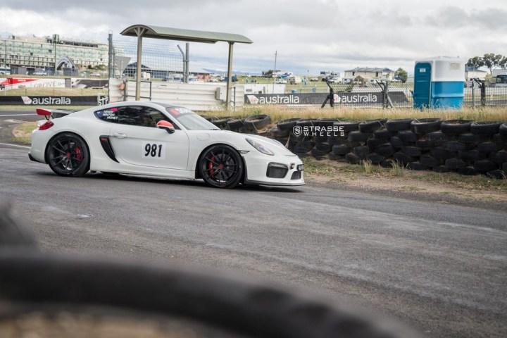 Strasse Wheels Porsche Cayman GT4 SV1 12