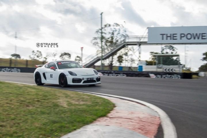 Strasse Wheels Porsche Cayman GT4 SV1 18
