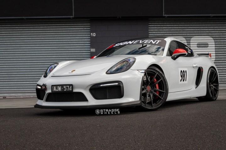 Strasse Wheels Porsche Cayman GT4 SV1 2