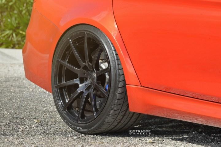 Strasse Wheels Sakhir Orange BMW M3 12