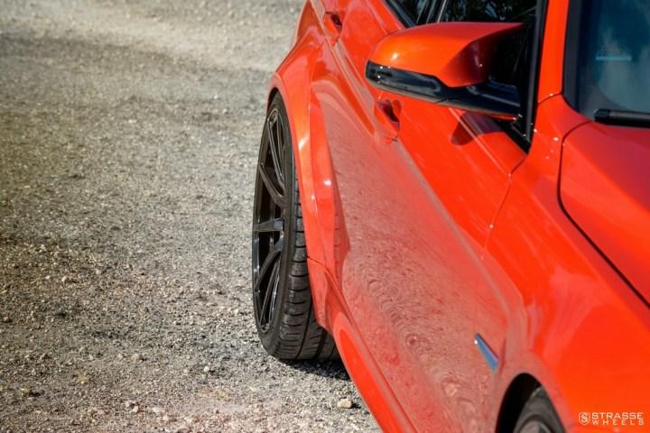 Strasse Wheels Sakhir Orange BMW M3 13