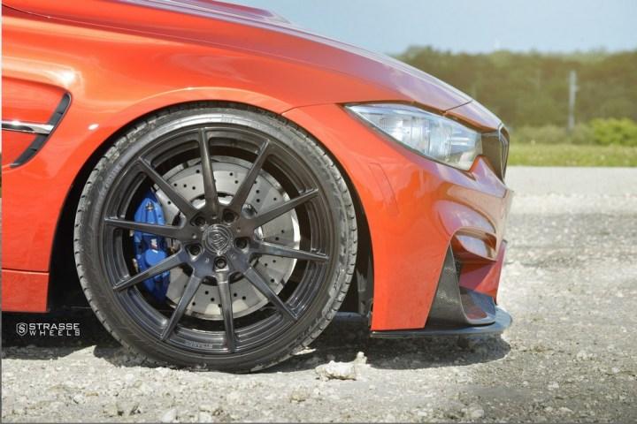 Strasse Wheels Sakhir Orange BMW M3 3