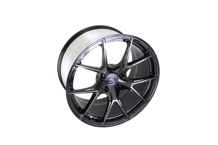Carbon Fiber Edition SM5R Deep Concave Monoblock - Blue Logo 3