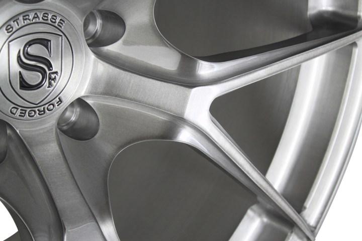 SM5R Deep Concave Monoblock - Brushed Titanium 7