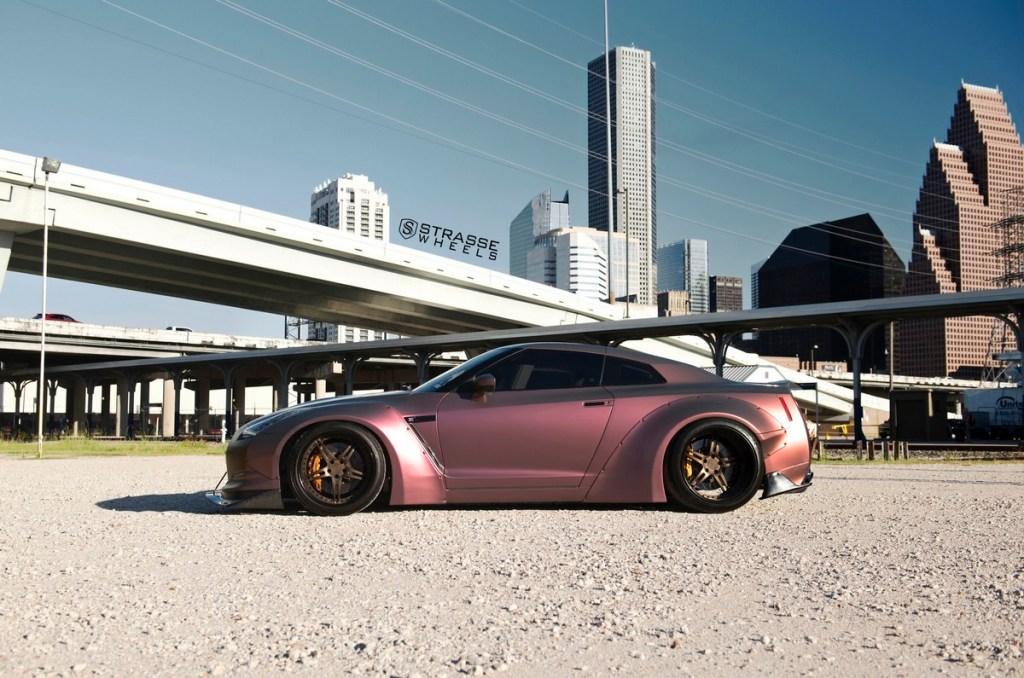 Strasse Wheels - Liberty Walk Wide Body Nissan GT-R - SP5R Signature Series 14