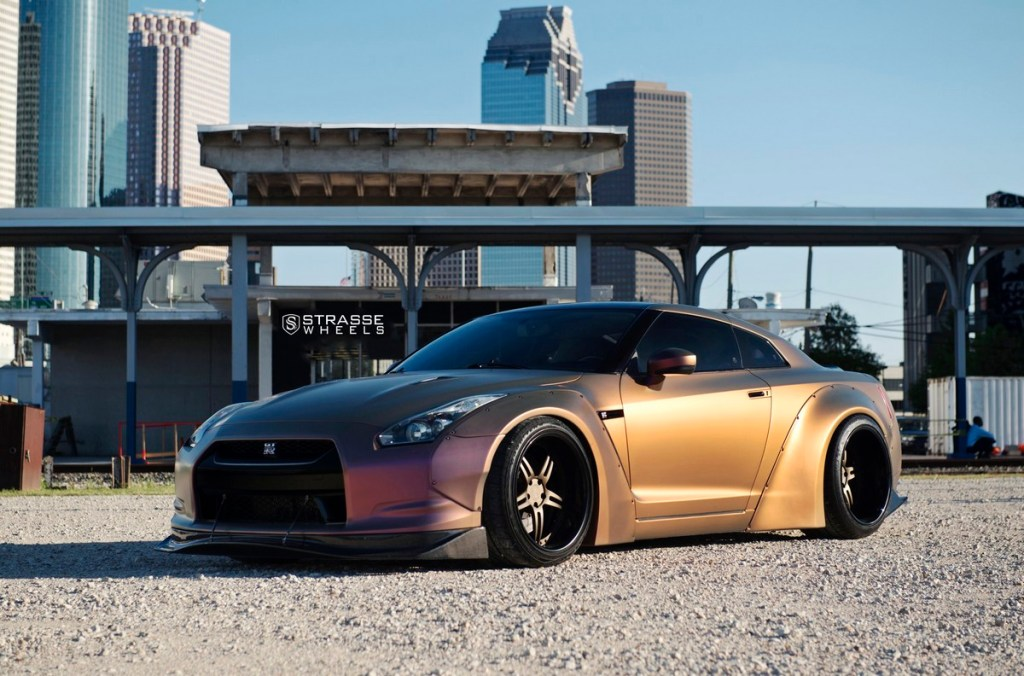 Strasse Wheels - Liberty Walk Wide Body Nissan GT-R - SP5R Signature Series 12