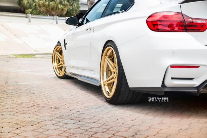 BMW F82 M4 - SV2T Deep Concave FS - Gold - Rob 13