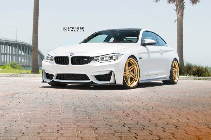 BMW F82 M4 - SV2T Deep Concave FS - Gold - Rob 2