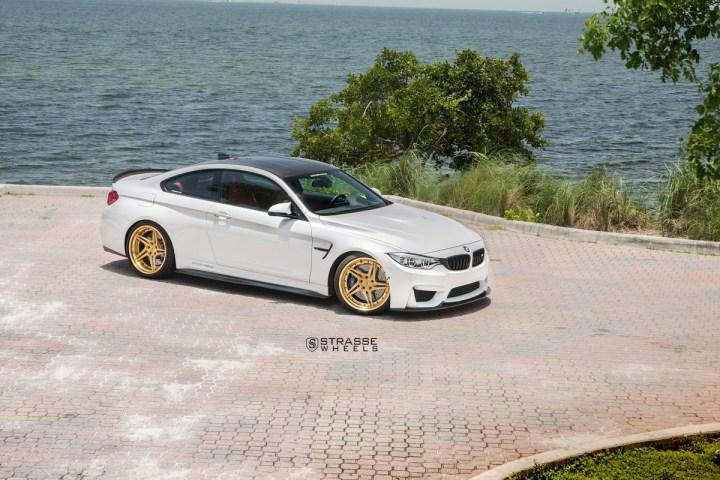 BMW F82 M4 - SV2T Deep Concave FS - Gold - Rob 3