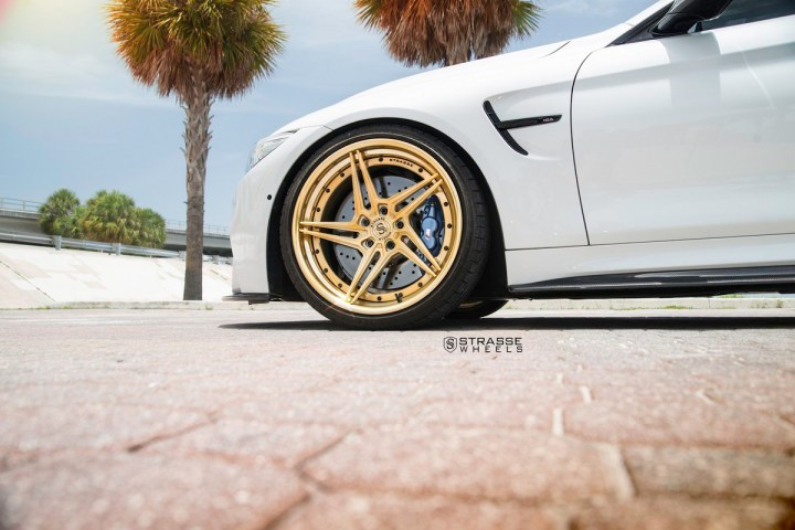 BMW F82 M4 - SV2T Deep Concave FS - Gold - Rob 5