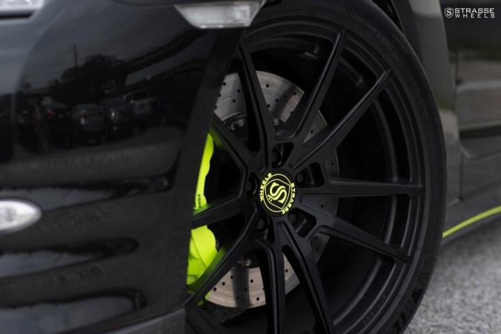 Nissan GT-R - SV1 Deep Concave Monoblock - Satin Black 4
