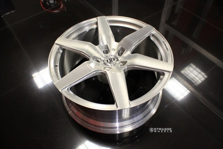 S6 Deep Concave Monoblock - Brush & Gloss Clear 9