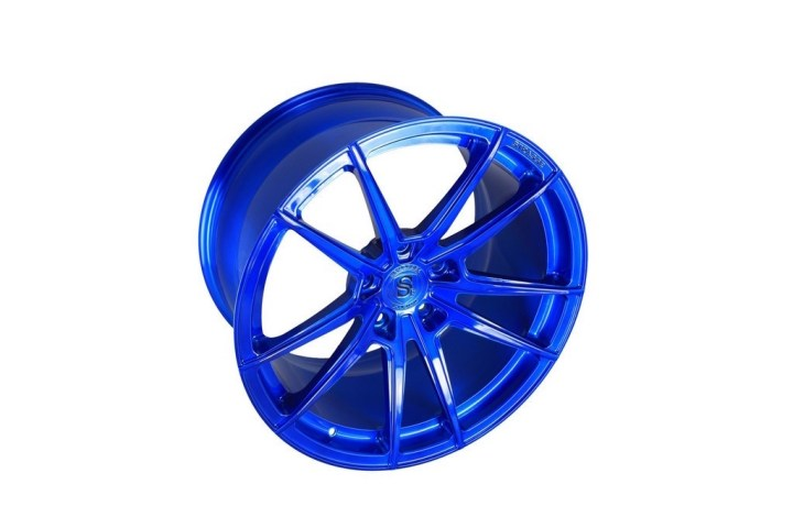 SV1 Deep Concave Monoblock - Brushed Blue 6