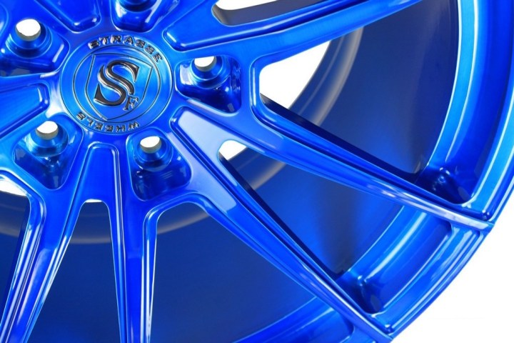 SV1 Deep Concave Monoblock - Brushed Blue 7