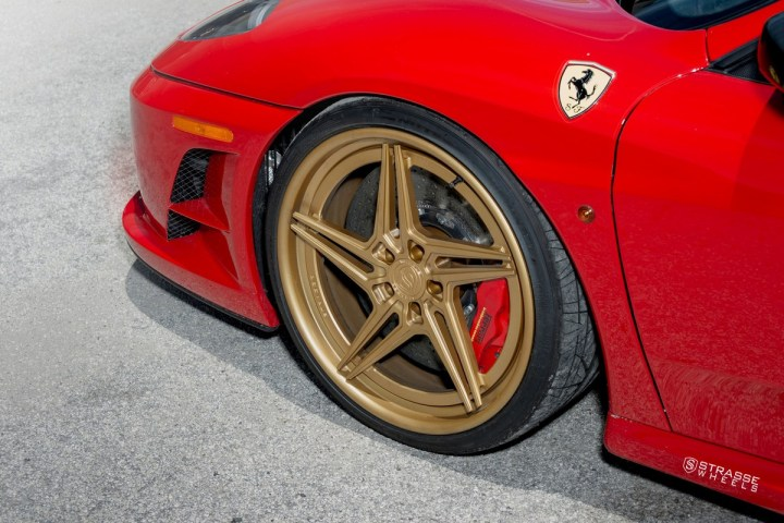 Ferrari 430 Scuderia - SV2T Deep Concave FS - Satin Gold 4