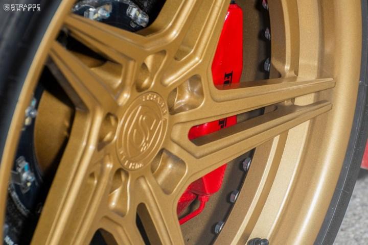 Ferrari 430 Scuderia - SV2T Deep Concave FS - Satin Gold 7