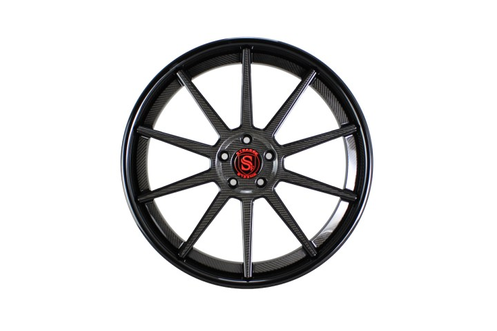R10 Deep Concave - Carbon Fiber Edition & Gloss Black 1